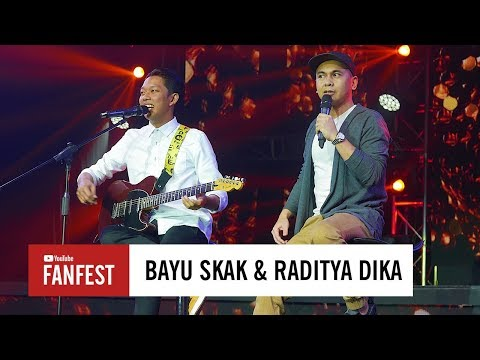 Bayu Skak & Raditya Dika @ YouTube FanFest Indonesia 2017