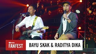 Bayu Skak & Raditya Dika @ YouTube FanFest Indonesia 2017