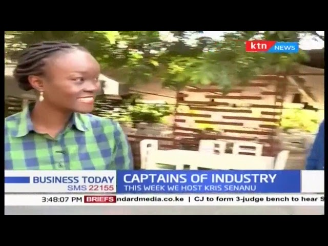 Managing Director of the Enterprise Division at Telkom Kenya, Kris Senanu | CAPTAINS OF INDUSTRY