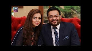 """""""Rapid Fire"""" is played by Faysal Qureshi, Dr Aamir Liaquat  & Syeda Tuba"""
