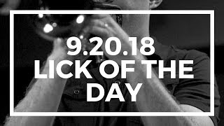 Jazz Trumpet | Lick of the Day 9.20