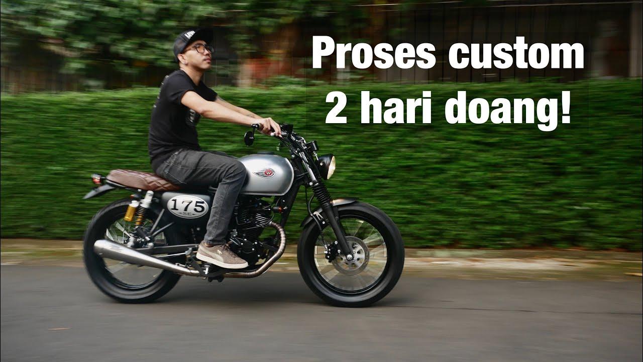 Custom Kawasaki W175 Modal Di Bawah 10 Juta Youtube