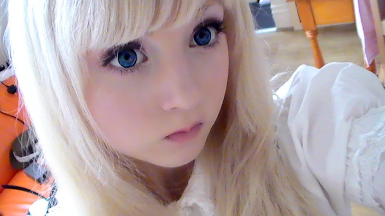 How To Look Like A Doll Make Up Youtube