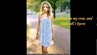Taylor Swift-Place in This World-Lyrics