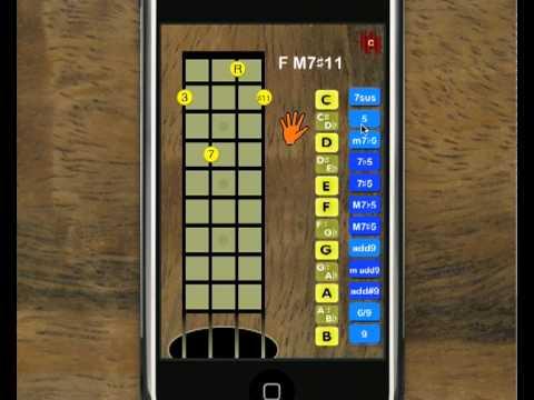 Ukemaster For Iphone Ukulele Chord Finder Youtube