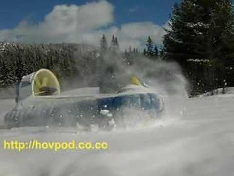 Hov Pod Hovercraft - Hovpod for all people