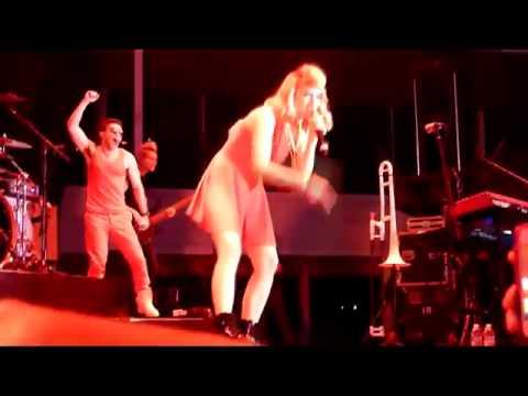 Karmin - Acapella Live From Delta Fair & Music Festival Memphis TN 08-30-2013)