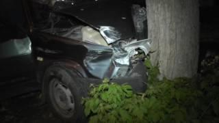 ДТП Воровского Лада в дерево. Место происшествия 13.07.2016