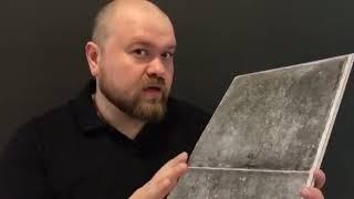 видео Пластиковый ламинат – альтернатива керамической плитке
