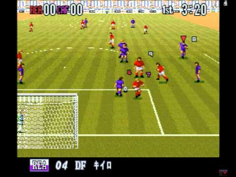 Super Formation Soccer 96 Club Edition (SNES) - HD 720p