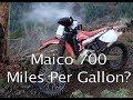 Maico 700 - How many miles per gallon?  (Dirtbike Garage: S2 E3)