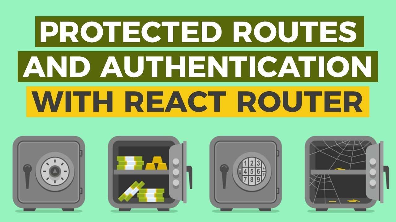 Protected routes and authentication with React Router v4
