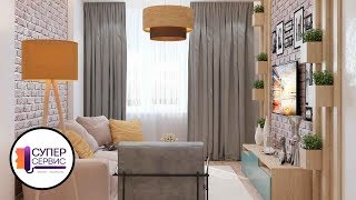 Очень необычный дизайнерский ремонт квартиры | ремонт трёхкомнатной квартиры | ремонт квартир спб