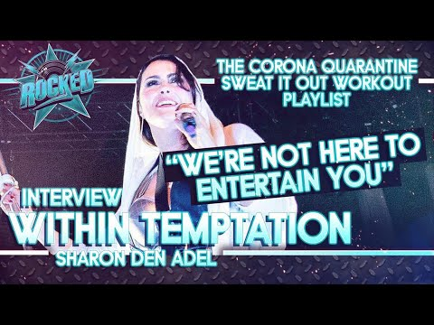 """WITHIN TEMPTATION (Sharon Den Adel) Talks """"Entertain You"""", Tour With Evanescence, Workout Playlist"""