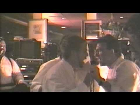 Throwback Thursday: Andrew Zimmern with Hair Singing Karaoke