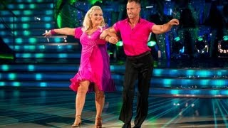 Vanessa Feltz & James to 'That Don't Impress Me Much' - Strictly Come Dancing 2013 Week 1 - BBC One