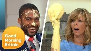 Kate Makes Her Own World Cup Trophy and Things Get Out of Hand! | Good Morning Britain