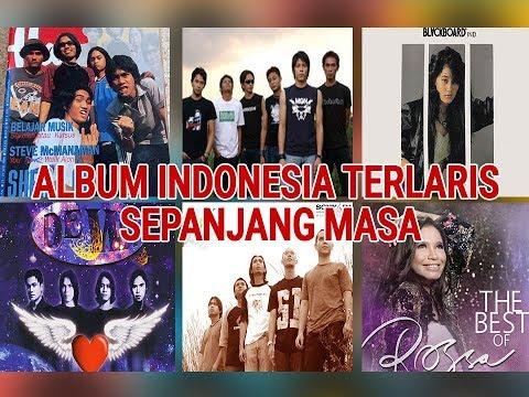 TOP #10 ALBUM INDONESIA TERLARIS SEPANJANG MASA