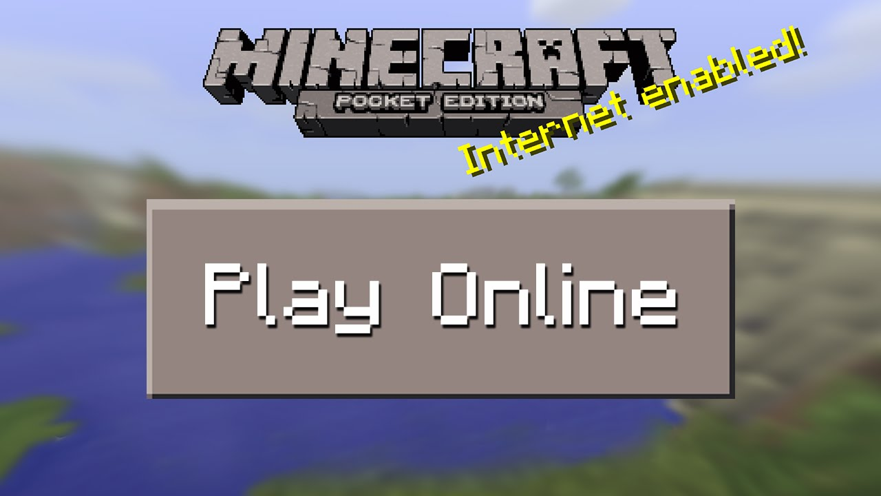 How To Join Multiplayer Servers In Minecraft Pocket Edition YouTube - Minecraft spielen online gratis
