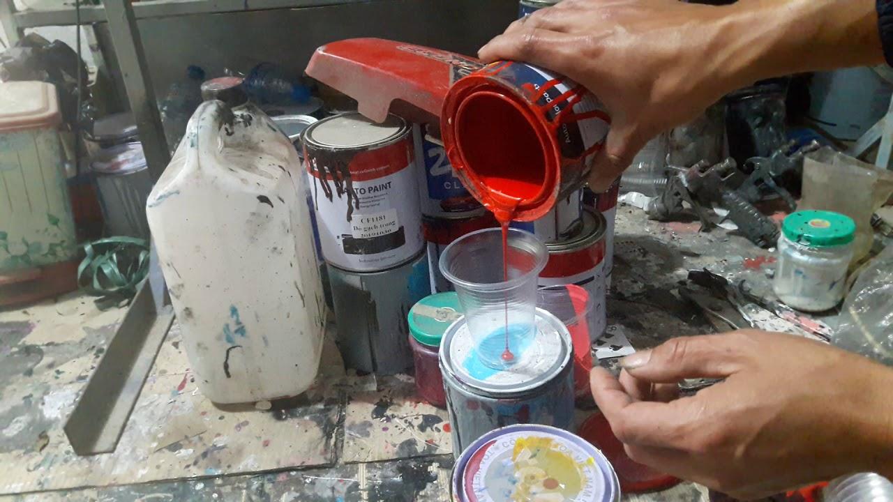 Photo of hướng dẫn pha màu sơn xe – cách pha màu đỏ xe máy Honda tập 88 [Mới Cập Nhật]