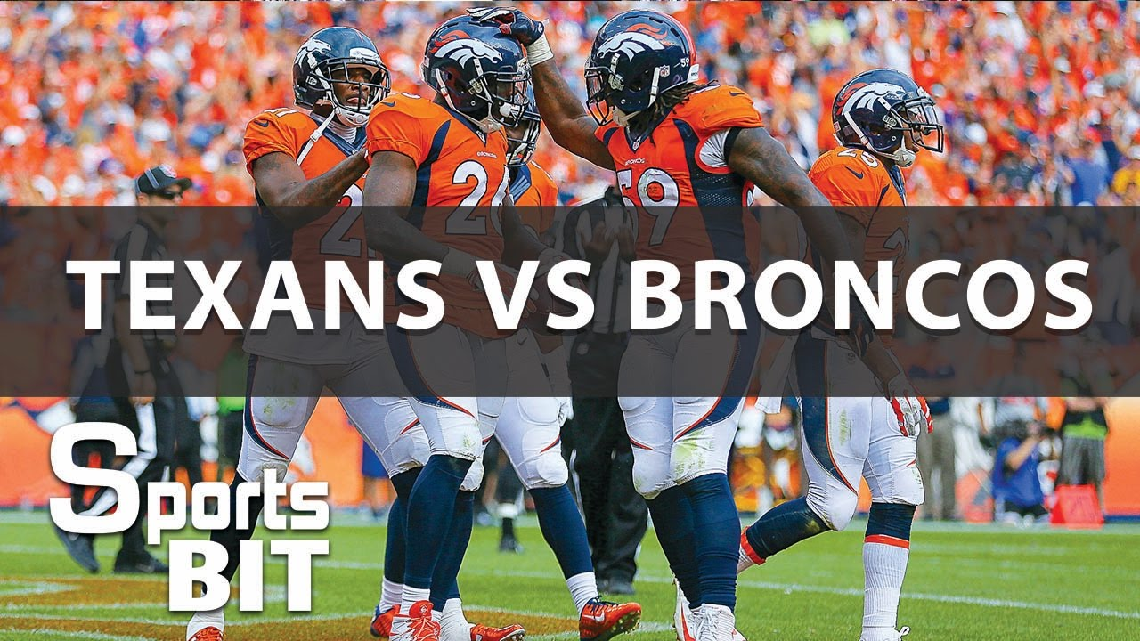 Broncos vs. Texans  a roundup of Denver's Week 14 win in Houston