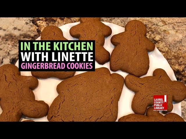 In The Kitchen with Linette: Gingerbread Cookies
