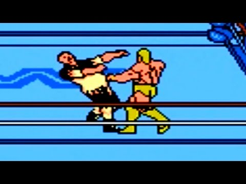 WWF King of the Ring (NES) Playthrough - NintendoComplete