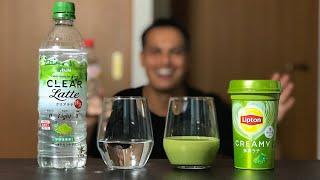 CLEAR vs REAL Matcha Tea Latte (Strange Japanese Inventions)