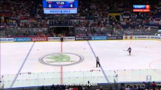 Беларусь - Россия 0 - 7. Хоккей. ЧМ 2015. Группа B. 5-й тур.