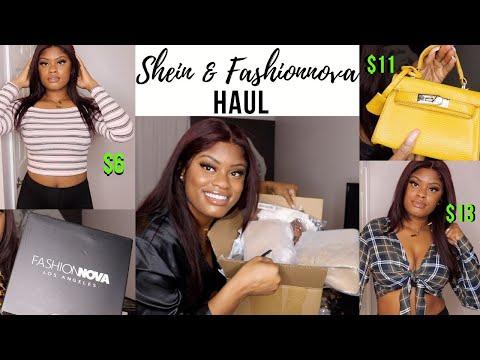 SHEIN & FASHIONNOVA HAUL| Bags, Clothes, & Shoes!