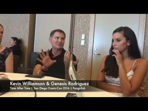 'Time After Time' SDCC 2016 Interview | Kevin Williamson & Genesis Rodriguez