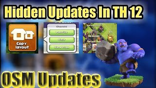 Hidden Features In TH 12 UPDATE | CLASH OF CLANS INDIA !