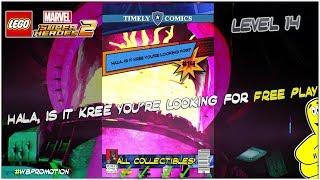 Lego Marvel Superheroes 2: Lvl 14/Hala Is It Kree You