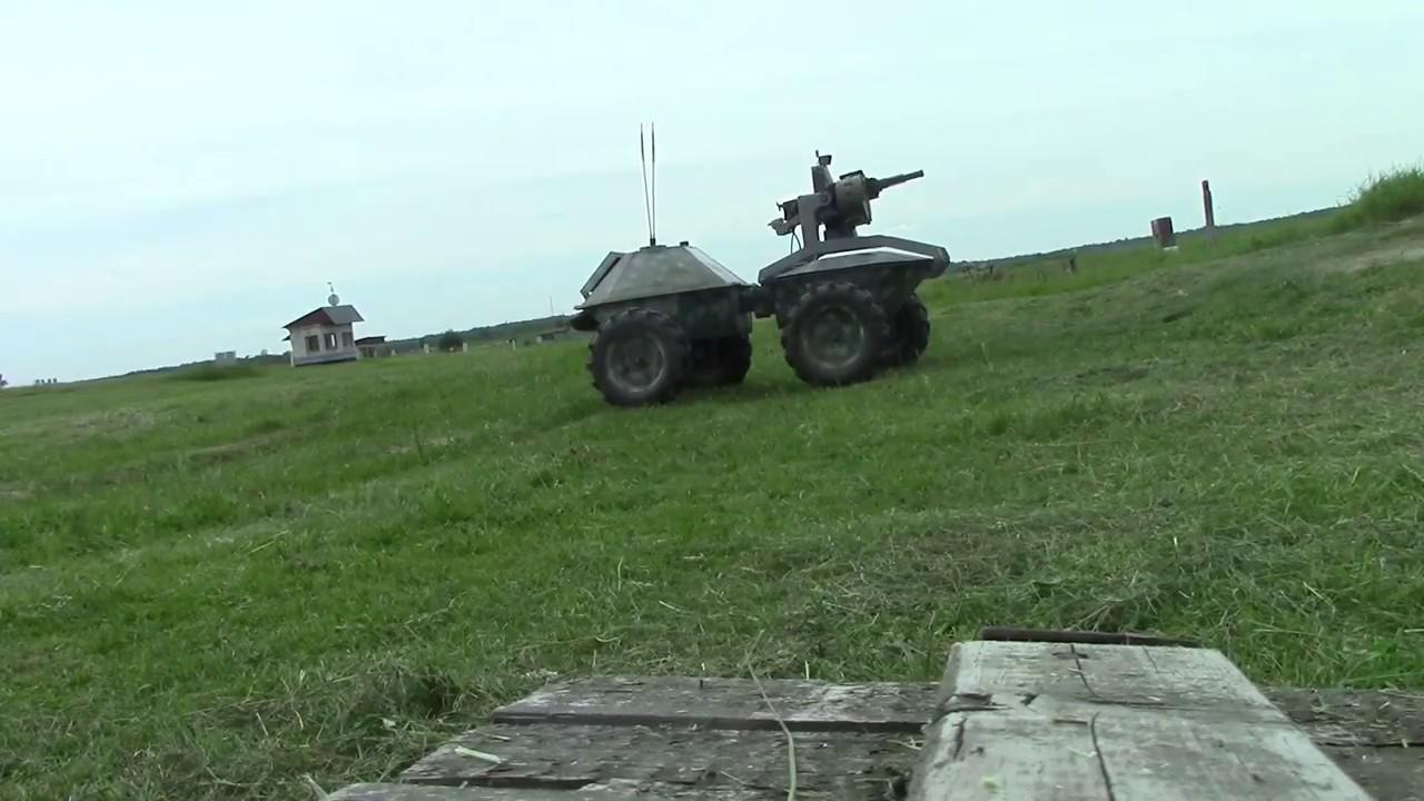 """Украинский радиоуправляемый гранатомет """"Черепашка"""""""