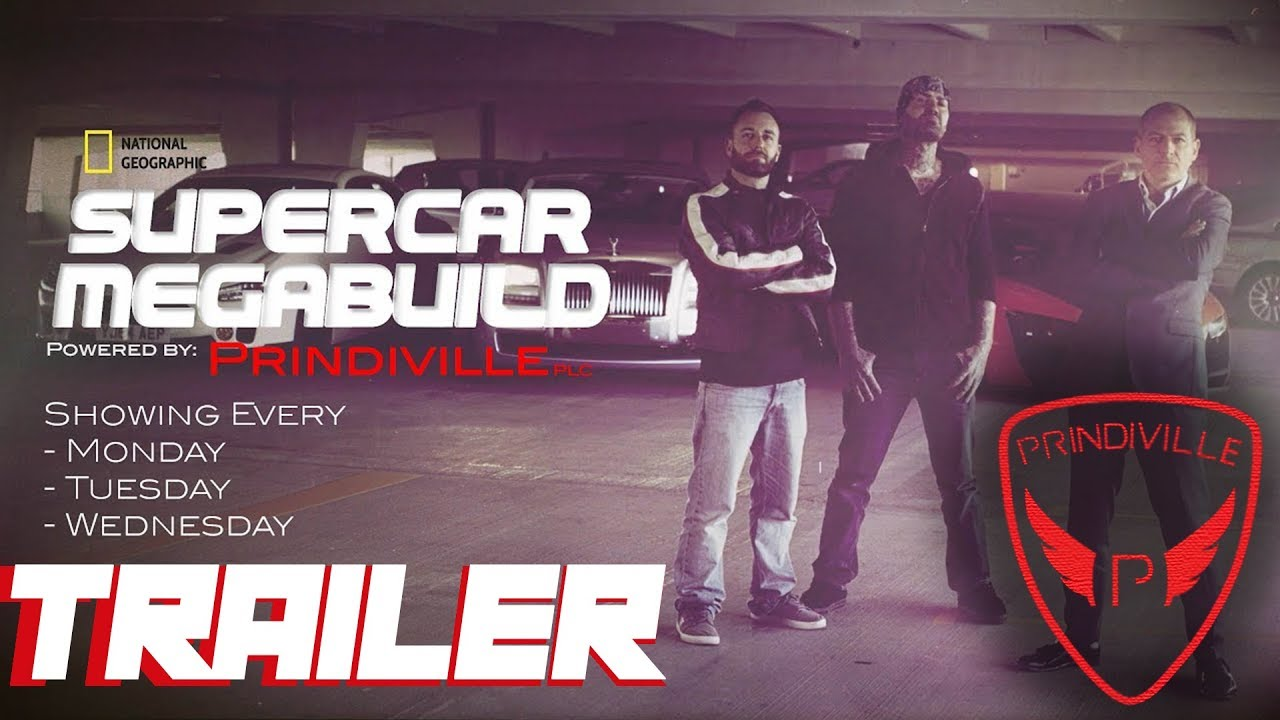 National Geographic Supercar Megabuild Season Trailer Youtube