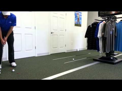 Simple Putting Drill for Indoor Practice