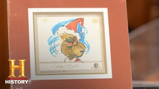 "Pawn Stars: ""Grinch"" Storyboard Signed by Chuck Jones (Season 14) 