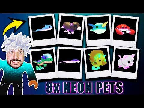 BABY KAAN MACHT 8 NEON PETS... ach ja, Baby Claudio ist auch da [Roblox Deutsch]