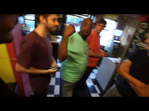 Ice Poseidon aggressively kicked out of Chicken & Watermelon (New Orleans)