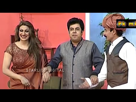 Zafri Khan and Iftikhar Thakur New Pakistani Stage Drama Full Comedy Funny Play