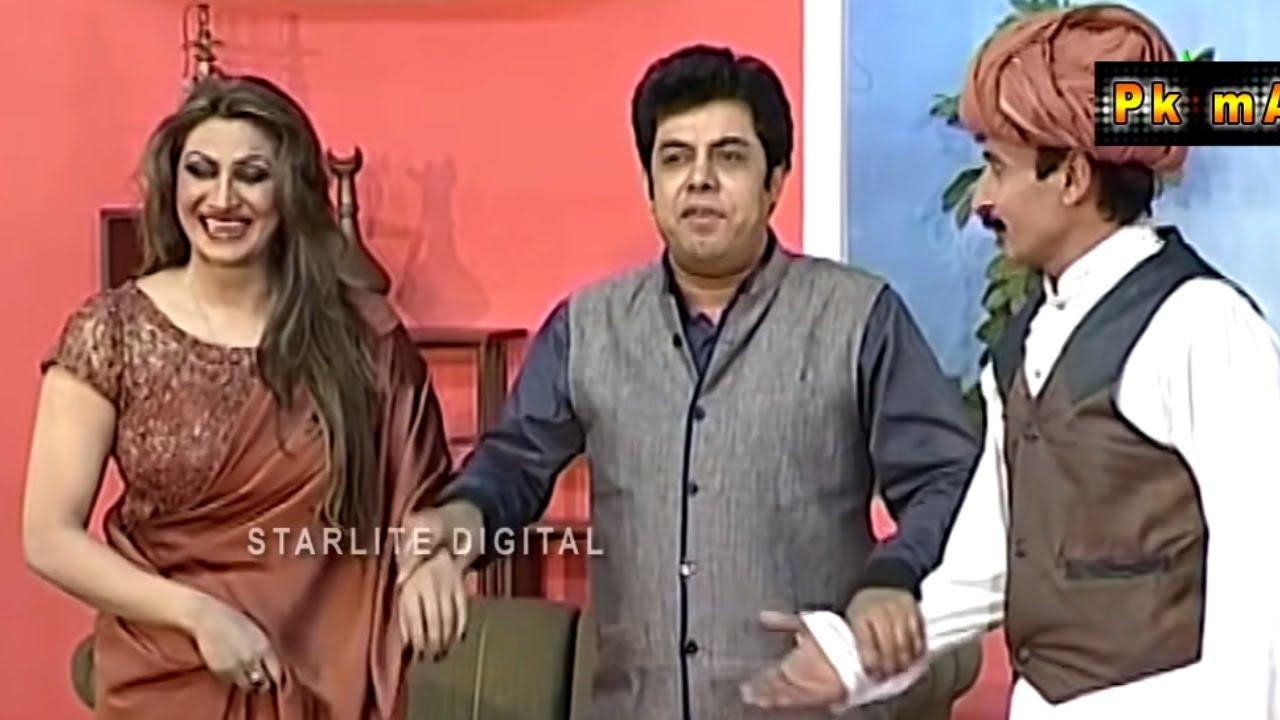 Zafri Khan and Iftikhar Thakur New Pakistani Stage Drama Full Comedy Funny Play | Pk Mast