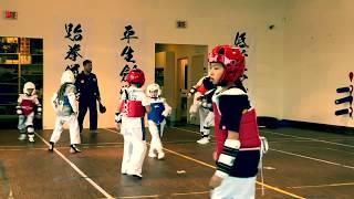 Jean-Claude Van Damme junior Kid Training Taekwondo Martial Arts