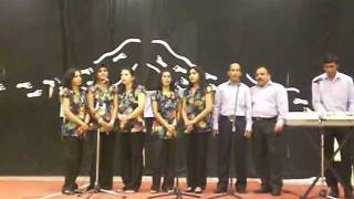 Konkani Hymns singing competition at Our Lady of Rosary Church, Doha ..avi