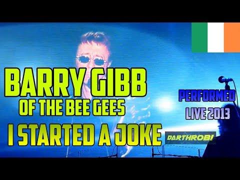 Barry Gibb & Robin Gibb - The Bee Gees - I Started A Joke  LIVE @ O2 Dublin, 25.09.2013  HD