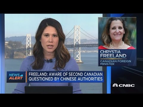 Second Canadian questioned by Chinese authorities