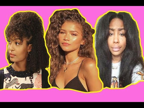 CELEBRITIES SHOW OFF THEIR NATURAL HAIR!  PART 2 (Zendaya, SZA, YARA.S, Gab UNION, etc.) Mp3