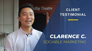 Client Testimonial from Sociable Marketing