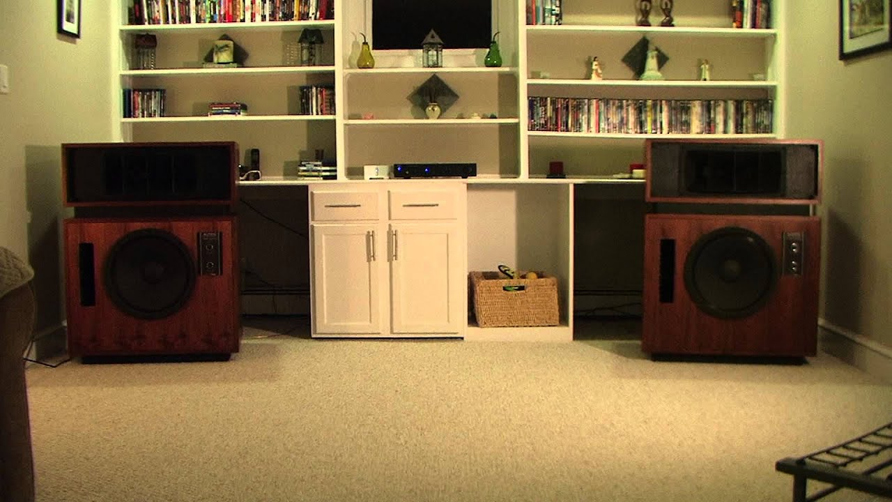 Altec Model 19 (Nineteen) Part #7 - Intro Listening Test