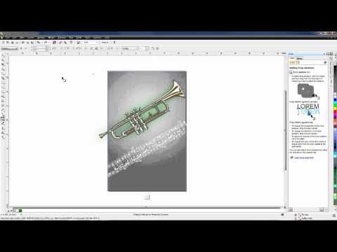Poster Design in CorelDRAW Graphics Suite X6