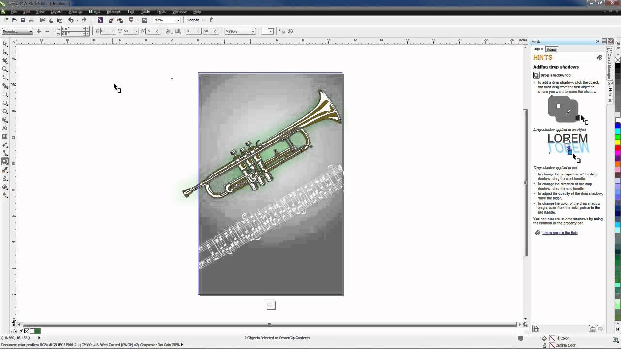 Poster design using coreldraw tutorial - Poster Design In Coreldraw Graphics Suite X6